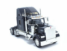 Welly 1:32 Kenworth W900 Semi Tractor Trailer Truck Diecast Model Black New