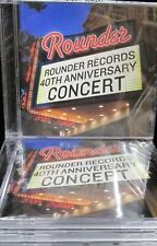 Rounder Records 40th Anniversary Concert LOT 5 CD NEW ,ALISON KRAUSS,MARY CHAPIN