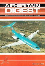 AIR-BRITAIN DIGEST #2 95: VAN BERKEL SEAPLANES/ FAA AC TO 1945/ FAA SQUADRONS