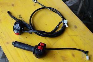 Explorer Speed 50 ccm Gasgriff Lichtschalter Amaturen mit Bremszug