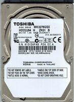 "TOSHIBA MK3276GSX 320GB 2.5"" INTERNAL HARD DRIVE FOR LAPTOP - 1 YEAR WARRANTY"