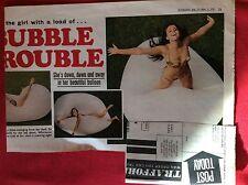 m2d ephemera 1972 picture model helena fransson old bubbles