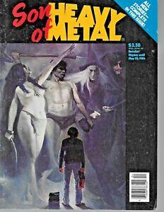 """"""" SON Of HEAVY METAL """" magazine 1984"""
