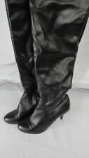 Women's Vero Cuoio Size 10 (270) Black Knee High Boots