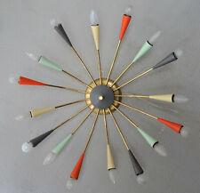 XXL SPINNE 87cm CHANDALIER SPIDER SPUTNIK tütenlampe stilnovo 50er 60er
