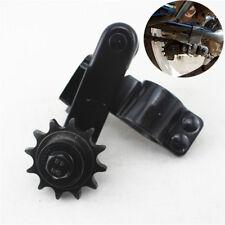 1x Universal Stahl Zahnrad Ritzel Motorrad Kettenspanner für quadratisch Gabel