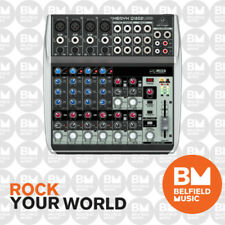Behringer XENYX Q1202USB Mixer Small Format Premium 12 Input w/ Audio Interface