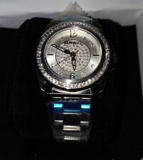 BREIL womens Steel Swarovski Elements®️crystal Silver Color Watch TW1335 NWT f/s