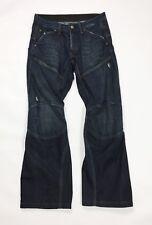 Gstar jeans raw denim usato uomo relaxed w30 tg 44 comodo boyfriend blu T3044