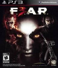 F.E.A.R. FEAR 3 (Sony PlayStation 3 PS3/2011) NEW