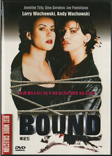BOUND (1996) DVD, New!! Jennifer Tilly, Gina Gershon