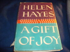 A Gift of Joy by Helen Hayes with Lewis Funke/M Evans & Co. Lippincott 1965 BCE*