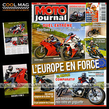 MOTO JOURNAL N°1860 BRADLEY SMITH DUCATI 1198 S 1000 GT GUZZI 750 CLASSIC 2009