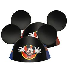 Disney Mickey Mouse Ears 8 Birthday Party Hats Favors Party Supplies Decorations