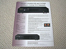 Marantz  CD-6000OSE / CD-5000 CD player brochure