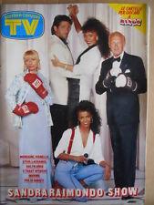 TV Sorrisi e Canzoni n°9 1987 Fellini Albano Romina Power Toto Cutugno  [D41]