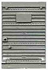 Silver Box Car Door for American Flyer S Gauge Scale Trains Parts