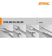Reparaturanleitung für defekte Stihl MS 210, 230, 250 - 021, 023, 025 ++ Zugaben