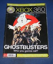 X-BOX 360 THE OFFICIAL XBOX MAGAZINE  ISSUE 28 CHRISTMAS 2007 - GHOSTBUSTERS