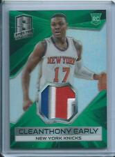 2014-15 PANINI SPECTRA CLEANTHONY EARLY RC 3 COLOR PATCH /5