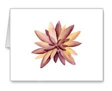 Succulent Note Cards With Envelopes