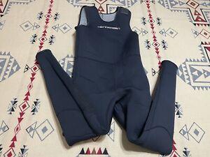 Henderson THERMAX Titanium Divewear Wetsuit Sz L Fire Fleece Men's Black