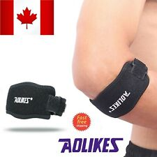 Tennis Elbow Brace Strap Tendonitis Golfers Gel Band Golf Pain Relief Support