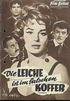 """IFB Illustrierte Film Bühne Nr. 5877 """" Die Leiche ist im falschen Koffer """""""