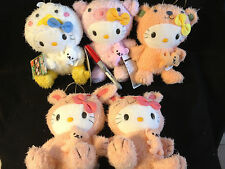 CHOOSE ONE~SANRIO HELLO KITTY VIBRATING PULL ANIMAL PLUSH from Japan-ship free
