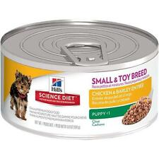 Hill's Science Diet Puppy Small & Toy Chicken & Barley Entree Wet Dog Food, 5.8-