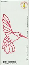 Cheery / Lynn/ Metal / Cutting Die / B194 /Lace Humming Bird/Bird
