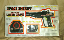 Vintage Space Sheriff Infra-Red Laser Game Indoor-Outdoor Use 1986