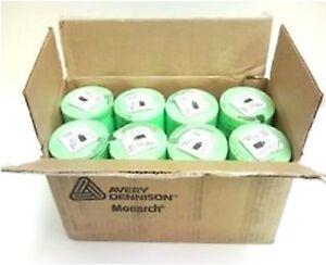 Genuine Monarch 1131 Fluorescent Green Labels One Box