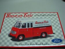 Snap-On 1950 Ford Stepvan Diecast Bank Replica (New)