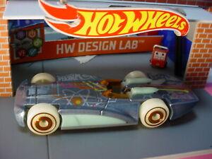 2021 HW DESIGN LAB Design CHEVROLETOR ☆ gray;glow dark wheels ☆LOOSE Hot Wheels