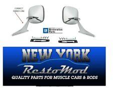 Chevelle Camaro Impala Nova Outside Mirrors Door Premium Quality! New Pair
