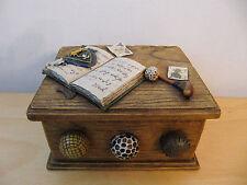 Vintage Gold Theme Sports Balls Accessory Box