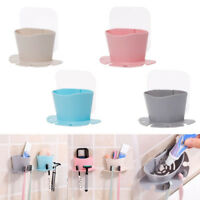 JW_ CO_ Durable Suction Cup Soap Toothbrush Box Dish Holder Bath Shower Access