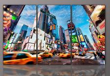 WANDBILD City New York abstrakt Wohnzimmer Kunst 155x60cm DESIGNBILDER