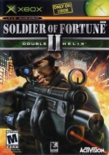 SOLDIER OF FORTUNE 2 DOUBLE HELIX for Original Microsoft Xbox System