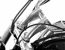 "1"" Chrome Handlebar Risers Fit Honda Shadow Spirit Aero VT750 VTX 1300 1800 GL"