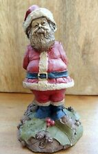 """Tom Clark 1987 Gnome, of """"Mr. Claus� #64, Santa Hiding Gift Behind His Back"""