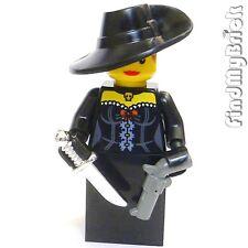 M354 Lego Creed Hunter Robin Hood Black Widow Assassin Custom Minifigure NEW
