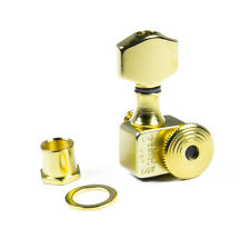 Sperzel Trim-Lok EZ-Mount 6 inline staggered Gold Plated locking tuners
