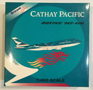 1/400 Dream Jets Cathay Pacific Boeing B747-467 DJCX0100 Asia's World City B-HOY