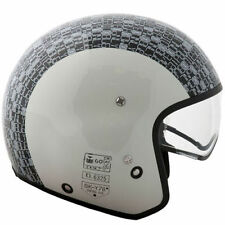 Gloss Not Rated Fibreglass Open Face Motorcycle Helmets