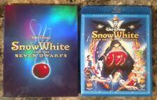 Snow White & the Seven Dwarfs Blu-ray + DVD 2009 3-Disc Set Diamond w Slipcover