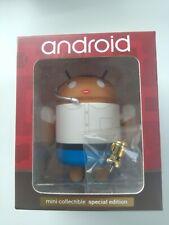 """Andrew Bell Google Android 3/"""" in vinile bianco fai da te Figura BIANCA-NUOVO"""