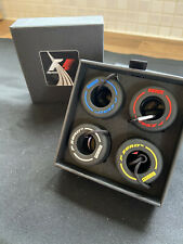 More details for f1, formula 1,gift box of 4 colour rubber tyres keychains