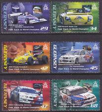 Guernsey 2006 Andy Priaulx's Motor Racing Victories set UM SG1103-8 Cat £6.75